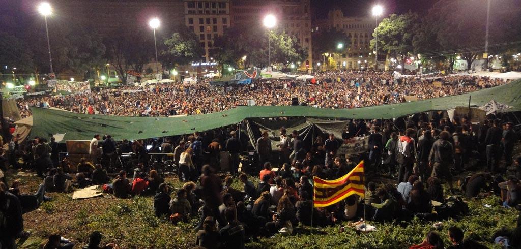 21 de maig 2011, Plaça Catalunya, Barcelona, Isidor Fernàndez