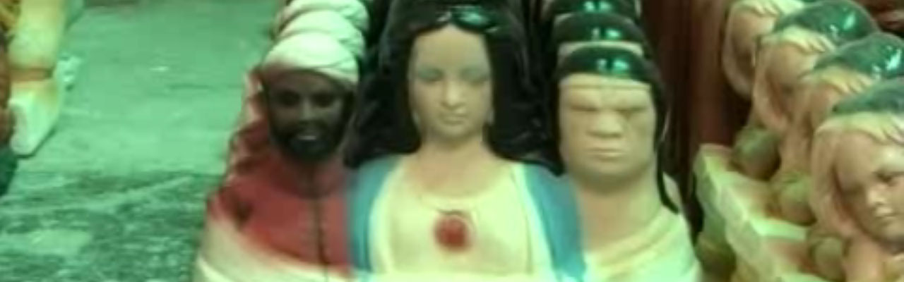 Rostros de una divinidad venezolana